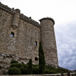 Torijas Castle in Spain , defense tower — Foto Stock