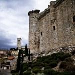 torijas 城堡在西班牙,防御塔 — 图库照片