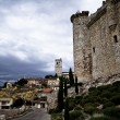 Torijas Castle in Spain , defense tower — Foto de Stock