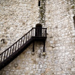 Stock Photo: Torijas Castle in Spain , stairs