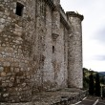 Castello di torijas in Spagna, strada — Foto Stock #10112594