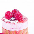 Strawberry and blackberry cake — Stock Photo #10112636