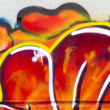 UrbGrafitti on wall. — Stock Photo #10113221