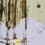 Grungy graffiti on an old wall — Stock Photo