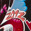 Graffiti seamless background. Urban art texture — Stock Photo #10113331