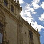 Universidad de Alcalá de henares al atardecer — Foto de Stock