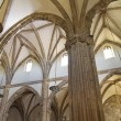 Stock Photo: Cathedral nave, space with Gothic-style columns