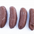 Delicious chocolate pralines over white background. — Stock Photo #10113725