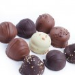 A collection of mixed chocolates and truffles — Stock Photo #10113830