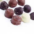 A collection of mixed chocolates and truffles — Stock Photo #10113869