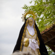 Typical spanish easter celebration procession of the christ of m — Stock Photo #10113937