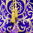 Procession of the christ of medinaceli,details — Stock Photo