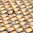 New roof tiles close up detail — Stock Photo #10113977