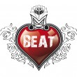Stock Photo: Heart Beat