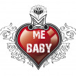 Heart my baby — Stock Photo #10114011