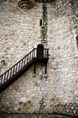 Torijas Castle in Spain , stairs — Stock Photo