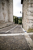 Torijas Castle in Spain , street — Stock Photo