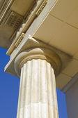 Close-up de colunas clássicas — Fotografia Stock