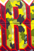 Graffiti wall urban hip hop background — Stock Photo