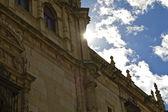 University of Alcala de Henares at sunset — Stock Photo
