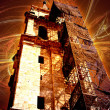 Mystic tower of a Cathedral. Conceptual design — Stock Photo