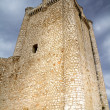 Stock Photo: Castle in Spain, medieval building.