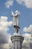 Sculpture du côlon christopher, découvreur de l'amérique — Photo