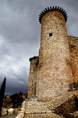 Castle in Spain, medieval building. — Stock Photo