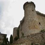 Torija castle in spain, medieval building — Stock Photo
