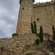 Torija Castle in Spain, Defense tower. Medieval building — Stock Photo