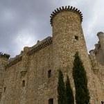 Torija Castle in Spain, Defense tower. Medieval building — Stock Photo