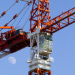 Crane,construction tower — Stock Photo