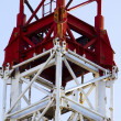 Crane,construction tower — Stock fotografie