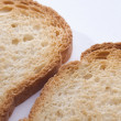 Piece of toast - Stock Photo