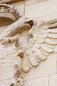 Medieval eagle — Stock Photo