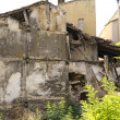 House demolition, ruins, Brihuega, Spain - Stockfoto