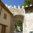 Puerta de la Cadena, Spanish wall, Brihuega, Spain - Stock Photo