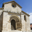 Stock Photo: Church of SMiguel, Romanesque transition, thirteenth century.