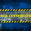 Under construction, poster, symbol. — Stockfoto #8745816