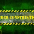 Under construction, poster, symbol. — Foto Stock #8745834