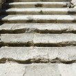 Stone stairs castle Denia, Spain - Foto Stock