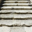 Stone stairs castle Denia, Spain - 