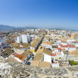 denia alicante view from castle — Stock Photo