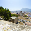 Denia alicante view from castle — Stock Photo #8748801