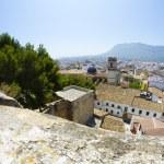 Denia alicante view from castle — Stock Photo #8748801