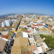 Denia alicante view from castle — Stock Photo #8748813