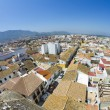 Typical Spanish village with white walls and red roofs — Stock Photo #8748826