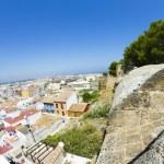 Denia alicante view from castle — Stock Photo #8748848