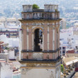 Denia alicante view from castle — Stock Photo #8748899