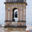 Belltower and temple bells in Denia, Spain — Stock Photo